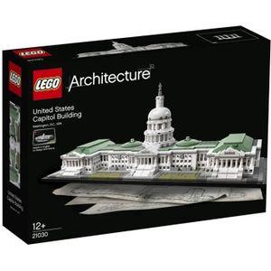 ASSEMBLAGE CONSTRUCTION LEGO® Architecture 21030 - Le Capitole des États-U