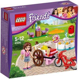 ASSEMBLAGE CONSTRUCTION LEGO Friends 41030 Le stand de glace d'Olivia