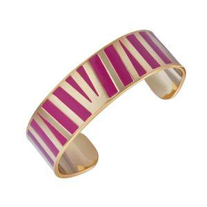 BRACELET - GOURMETTE LUYIA Bracelet Femme  LS18030 doré et rose en lait