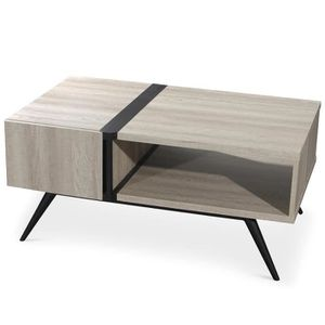 Table basse scandinave achat vente table basse for Table basse chene clair pas cher
