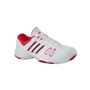 CHAUSSURES DE TENNIS Chaussures ADIDAS Fille Court Edge K Blanche / Ros