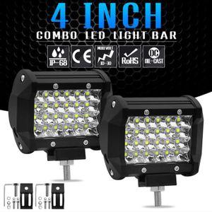 TBAN 30W Phare LED Moto Feux Additionnels Avant CREE LED Phares De Travail Projecteur Dinondation Lumi/ères 12V-80 Paquet De 2