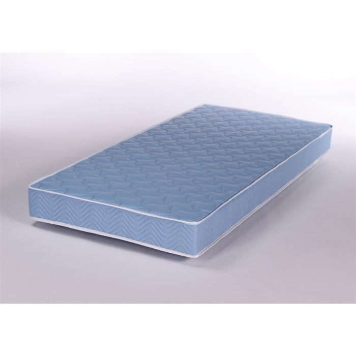matelas 70x140cm bleu mousse 30kg m3 achat vente matelas cdiscount. Black Bedroom Furniture Sets. Home Design Ideas