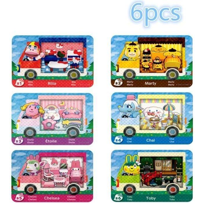 Cartes Animal Crossing Sanrio