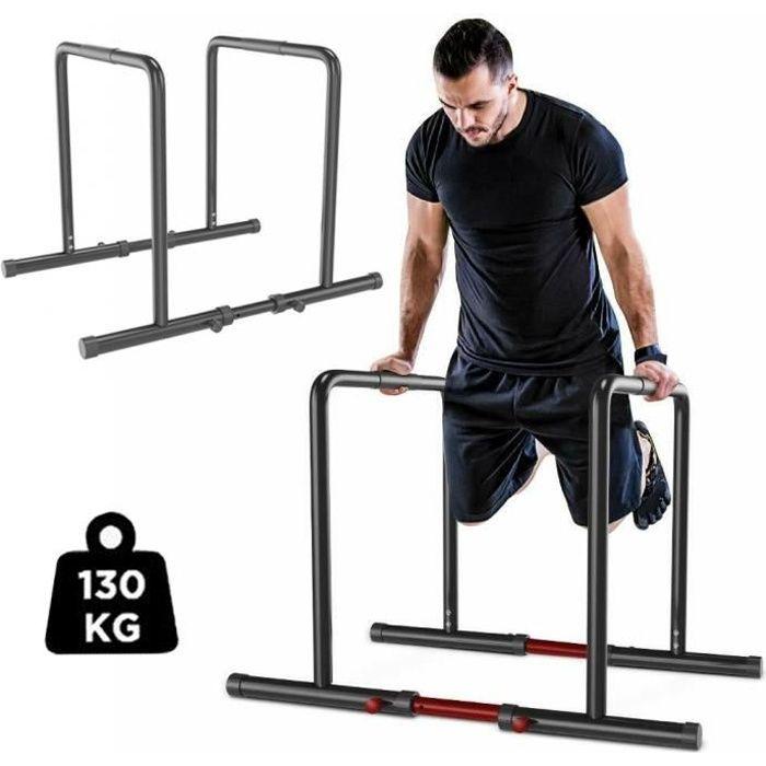 YOLEO Station De Musculation Barres Dip Parallèles avec Barre de Largeur Ajustable Entraînements de Poids - UK Stock