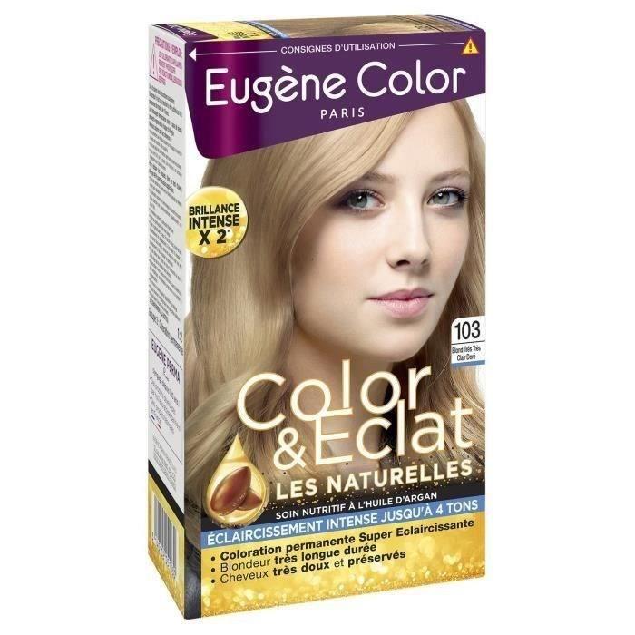 EUGENE COLOR Crème Colorante permanente N103 Blond très clair Doré