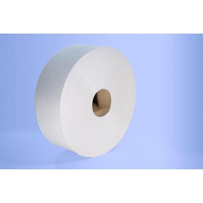 Distributeur papier hygiénique Yaliss Jumbo JVD - 6 rouleaux - 350 m