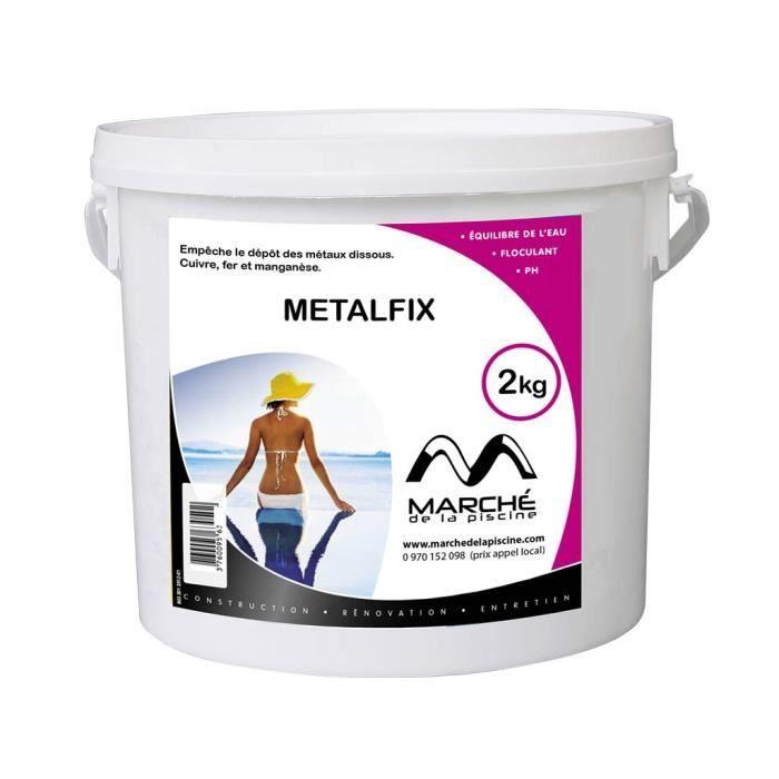 Séquestrant métaux METALFIX Marchedelapiscine 2kg