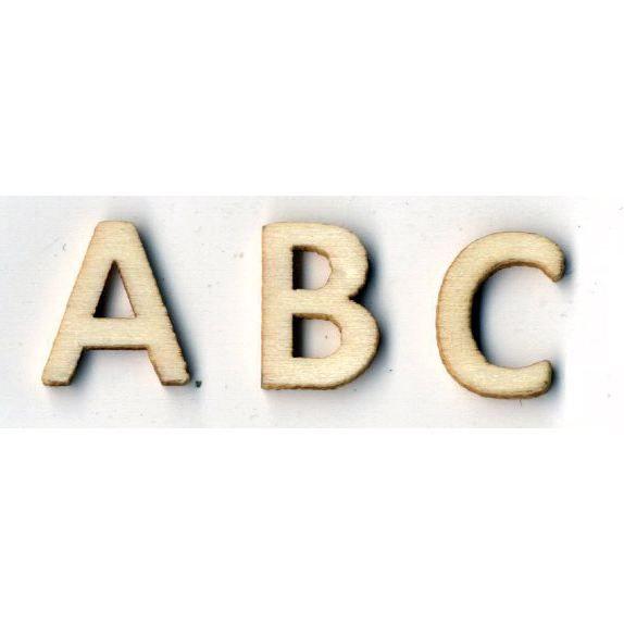 ARTEMIO Grand alphabet en bois 130 pcs