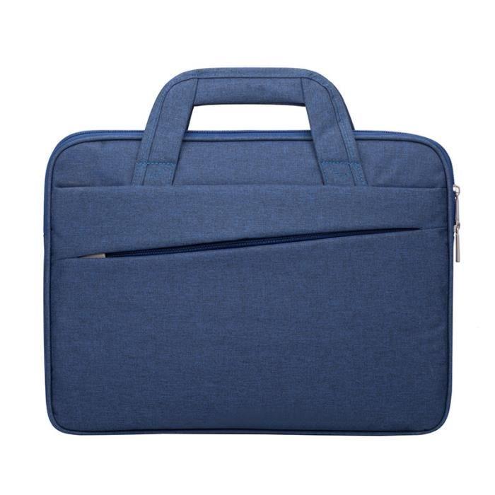PORTE-DOCUMENTS - SERVIETTE - ATTACHE-CASE,Crossten 15.6 pouces sacoche pour ordinateur Portable hommes femmes sac à - Type D Blue