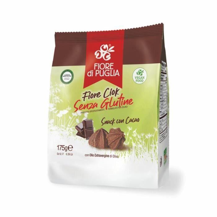 Biscuits au chocolat sans gluten Fior Ciok Fiore di Puglia - 175 gr Spécialités des Pouilles