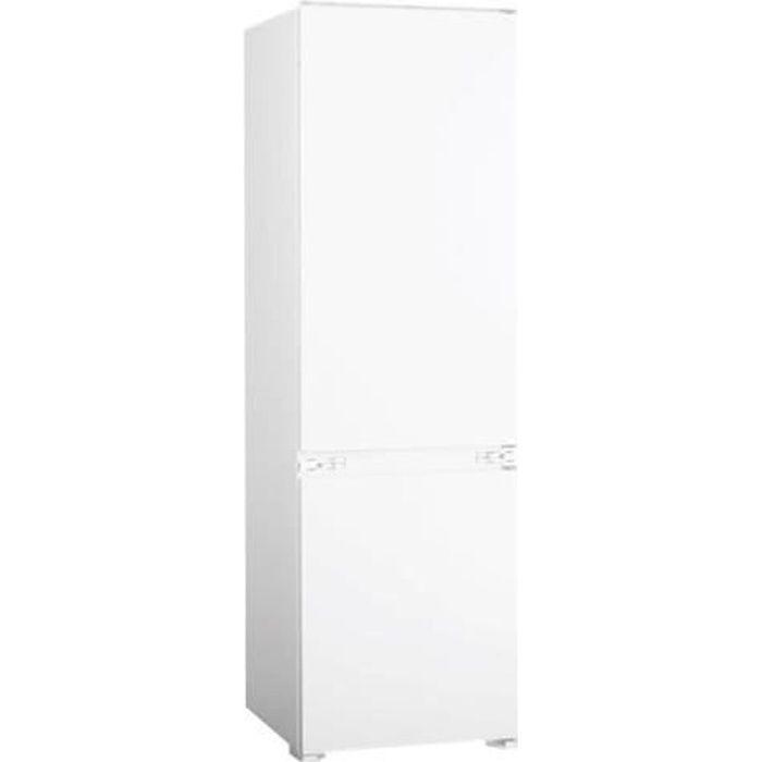 Candy BCBS172HP Réfrigérateur-congélateur intégrable largeur : 54 cm profondeur : 54 cm hauteur : 178 cm 250 litres congélateur…