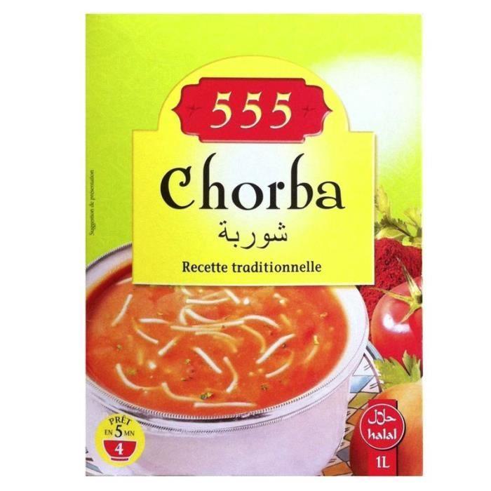 LAAROUSSA Soupe chorba legumes et vermicelle - 102 g