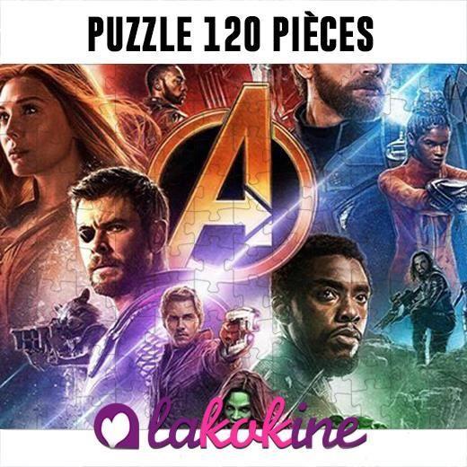Puzzle 120 Pièces avengers Superhero