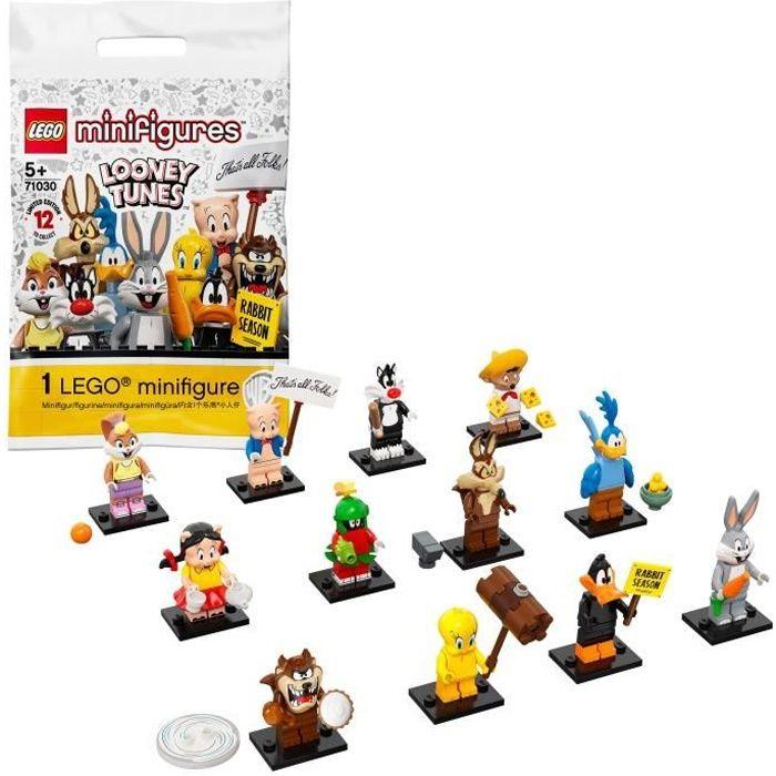 LEGO® Minifigures 71030 Looney Tunes™, Jouet pour Enfant de 5 ans et +, Avec une Figurine Unique de Personnage, Edition Limitée