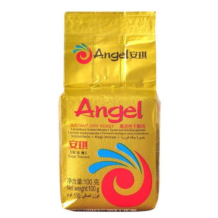 Levure sèche de haute activité d'ange d'or 100g