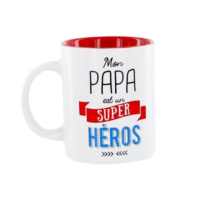 Mug en Ceramique Papa - Cadeau Fête Anniversaire Père - 542