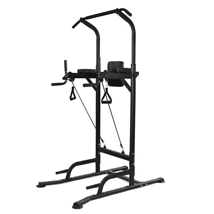Pullup Fitness Barre de traction ajustable - Chaise romaine