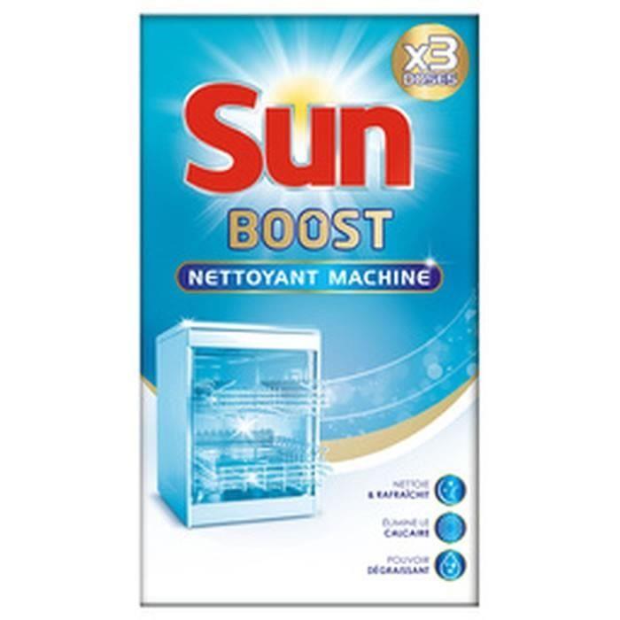 LOT DE 3 - SUN Boost Expert - Nettoyant lave-vaisselle 3 sachets