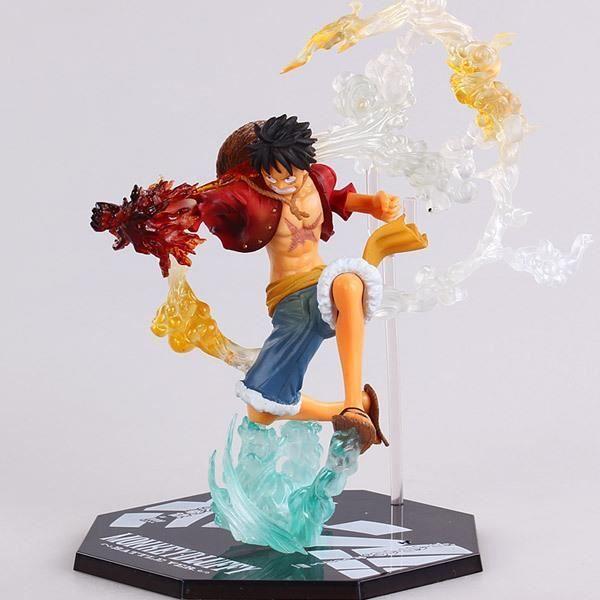 Anime One Piece Luffy Figure Fighting Film ver. Pvc figurines jouet 7 polegada 18 cm 1 Pcs Posez une question sur ce produit - Soye