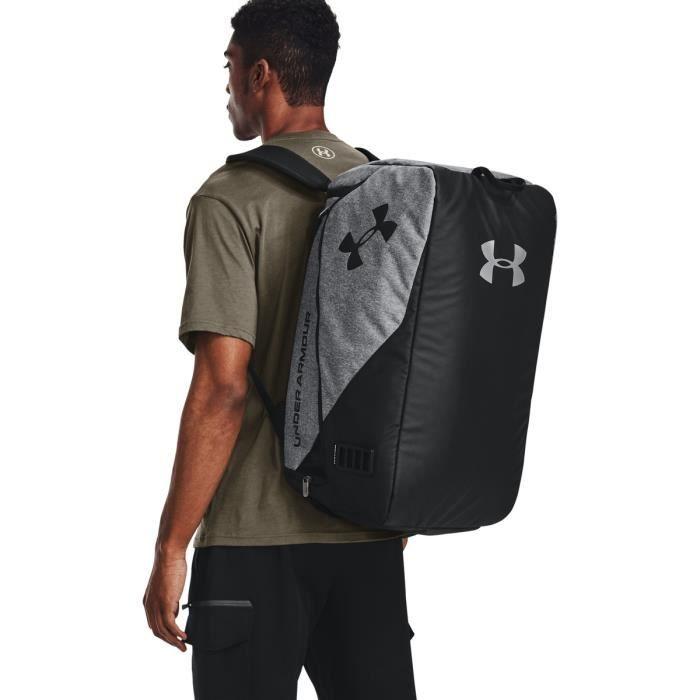 Sac de sport Under Armour moyen double compartiment - gris foncé/noir/noir - TU