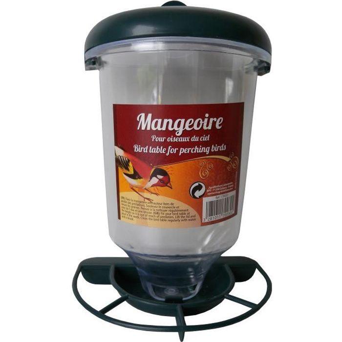 MANGEOIRE - TRÉMIE AIME Mangeoire à graines - Pour oiseaux du ciel