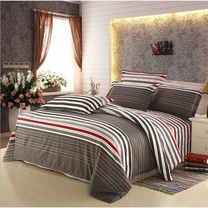 housse de couette de marque bedding set 2 taies 240 x 220 cm 027 achat vente parure de. Black Bedroom Furniture Sets. Home Design Ideas