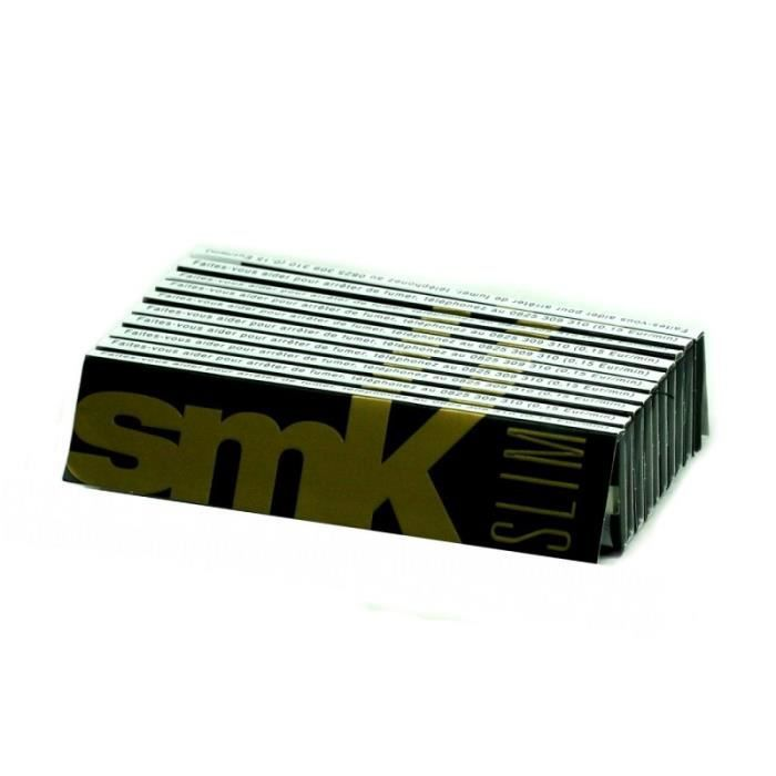 Smoking SMK Slim lot de 10 carnets de feuilles slim