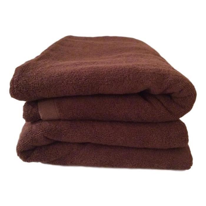 Serviette de bain pour salon de beaut/é Serviette de massage /à s/échage rapide Grande serviette en microfibre /épaisse Serviette douce