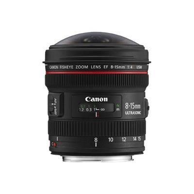 OBJECTIF Canon EF 8-15mm F4 L Fisheye USM