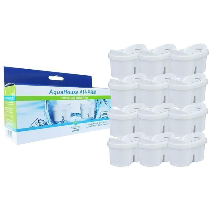 6 Recharge Cartouches Filtre à Eau compatible avec Bosch Tassimo Boisson Chaude Machine