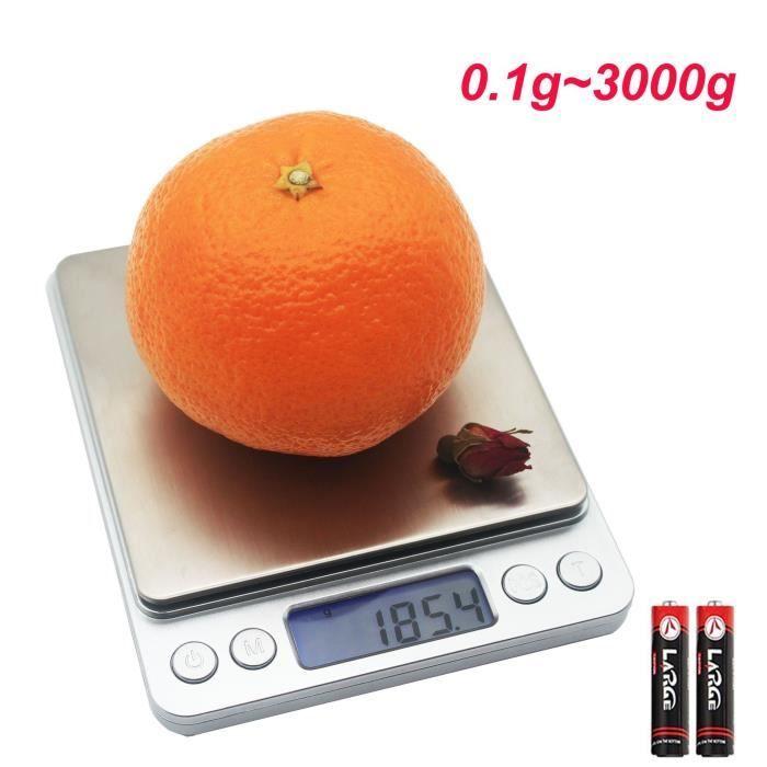 Balance De Cuisine Precision 0 1g 3000g Numerique Balance