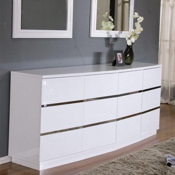 buffet blanc laqu stargate achat vente buffet bahut. Black Bedroom Furniture Sets. Home Design Ideas