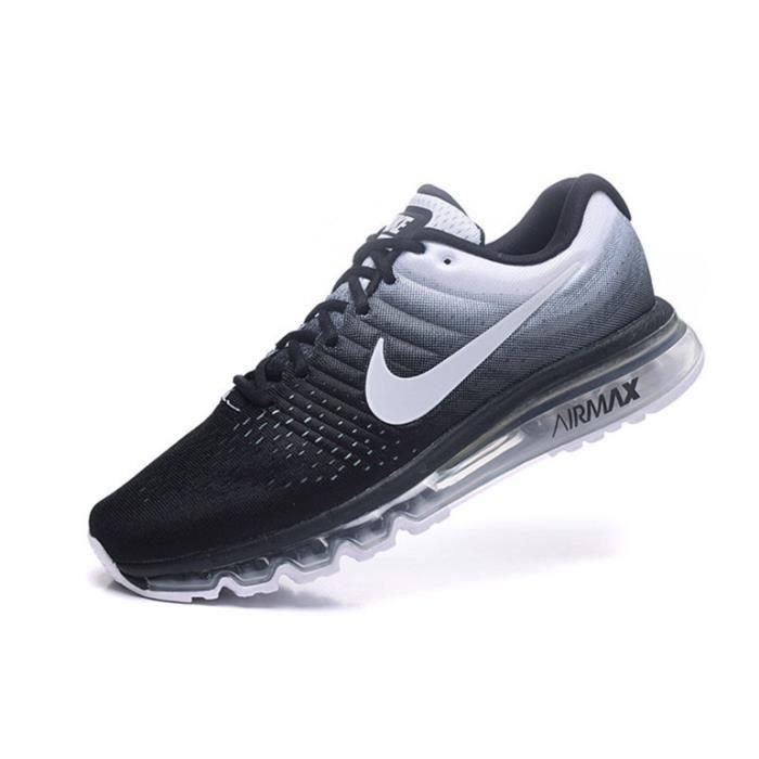 Officiel Nike Air Max 2017 GS Chaussures Nike Basket Pas Cher Pour FemmeEnfant Bleu Blanc 849560_302 1804062389 Officiel Nike Site! Chaussures Tn