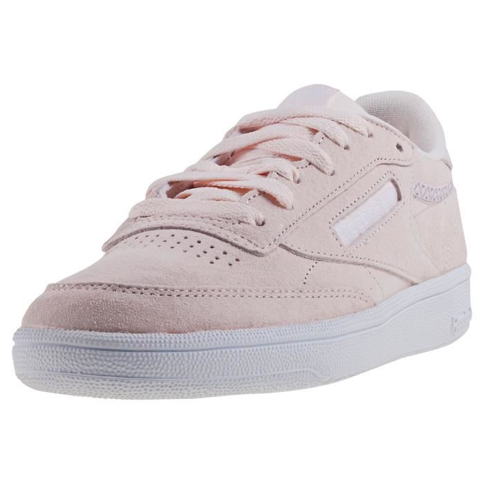 Reebok Club C 85 Trim Femmes Baskets Blush Rose 5 UK