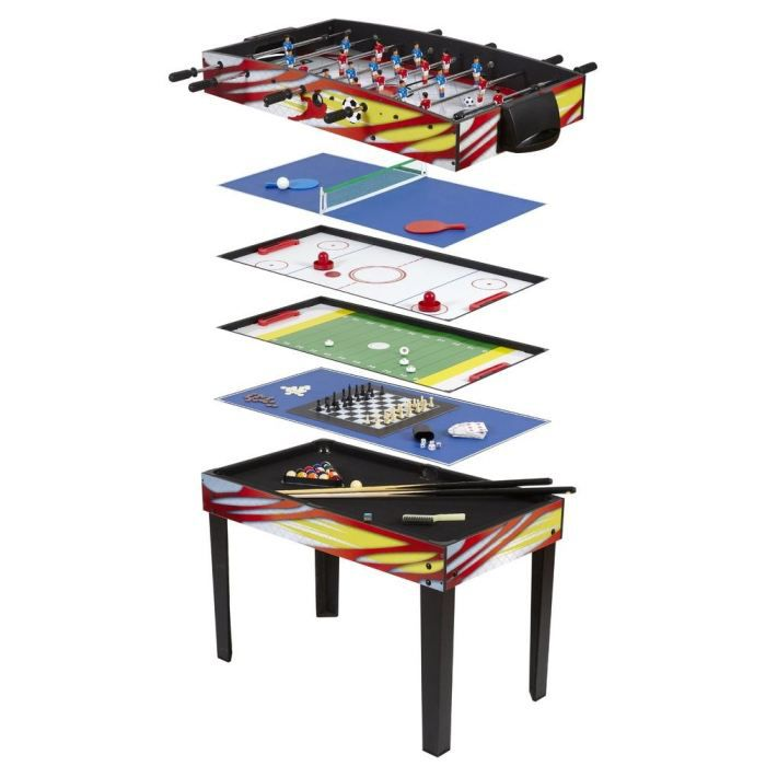 Table multijeux 12 en 1 achat vente table multi jeux cdiscount - Table multi jeux 5 en 1 ...
