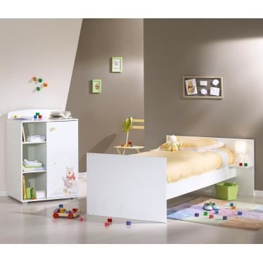 lit b b winnie l 39 ourson 60 x 120 cm avec le li achat vente lit b b 2009968968030 cdiscount. Black Bedroom Furniture Sets. Home Design Ideas