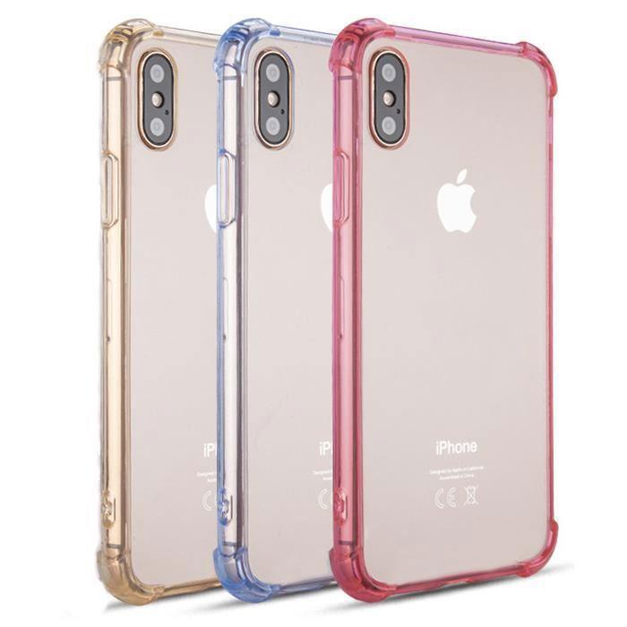 tikawi r lot 3 coques iphone 7 8 4 7 bleu