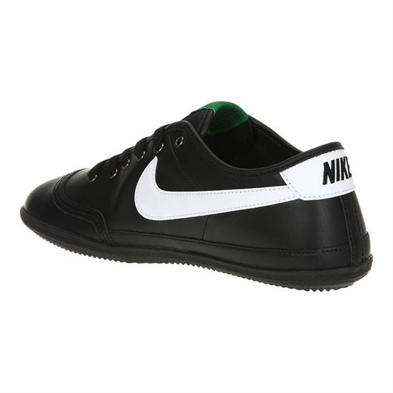 Noir Achat Nike Flash Et Homme Leather Baskets Vente Blanc wrq7Sq1zx