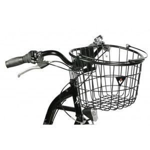 Sunlite Bicycle Front Basket Mesh Décoller Transporteur Noir Cruiser Commuter Bike