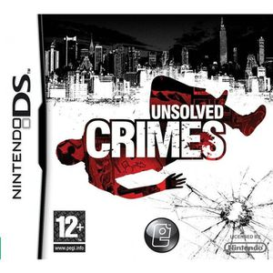 UNSOLVED CRIMES / JEU CONSOLE NINTENDO DS