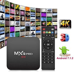BOX MULTIMEDIA MXQ Android PRO 7.1 Quad Core 2 + 16G Smart TV Box