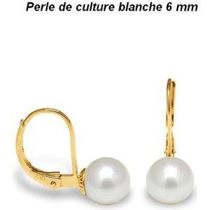 Boucle d'oreille 1000 et un bijoux. Boucles d'Oreille Dormeuses Per