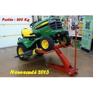 PIÈCE OUTIL DE JARDIN Lève tracteur tondeuse hydraulique capacité 800…