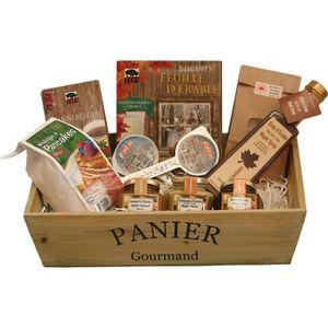 COFFRET CADEAU ÉPICERIE Panier garni - Coffret cadeau - Plaisir gourmand