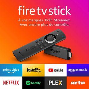 TÉLÉCOMMANDE TV Fire TV Stick avec télécommande vocale Alexa, Lect