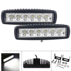 PHARES - OPTIQUES 18W LED Spot Lampe de Voiture Phare de travail LED