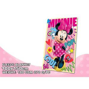 COUVERTURE - PLAID Plaid Polaire Minnie  150 x 100 cm