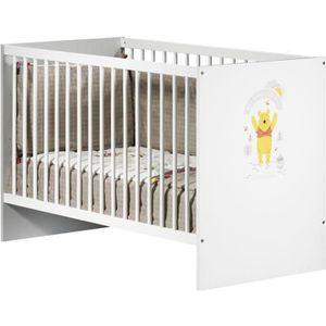 LIT BÉBÉ WINNIE Lit bébé à Barreaux 60x120 cm Fun in the Su