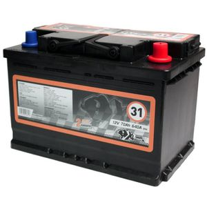 BATTERIE VÉHICULE XL PERFORM TOOLS Batterie XL31 640A 70Ah